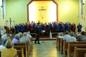 Joint Concert with Chester MVC at St Oswald's – 13th May 2017