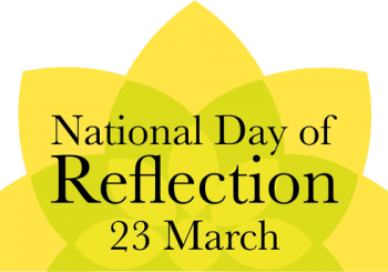 21.3.23 WMVC support National Day of Reflection
