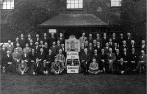 Warrington Male Choral Union, 1924