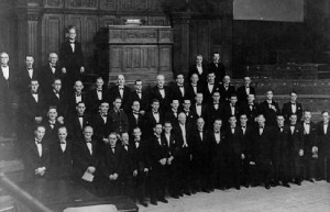 Warrington Male Choral Union, 1947