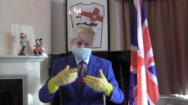 'Boris' joins choir for lockdown remix fundraiser.