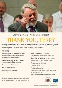 Thank You, Terry – St Oswald's