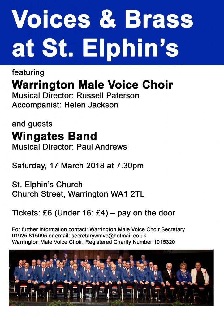 Voices & Brass at St Elphin's