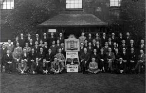 Warrington Male Choral Union, 1924